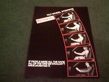 1986 SAGINAW TILT WHEEL STEERING VAUXHALL Astra Cavalier Senator - UK BROCHURE