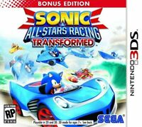 Sonic & All-Stars Racing Transformed - Bonus Edition - Nintendo 3DS Game Only