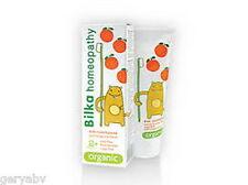 Bilka HOMEOPATHY Kids 2+ ORGANIC Toothpaste Fluoride Free Sugar Free MentholFree