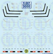 1//87 Herpa accessori paraurti con Rammschutz MB ACTROS L 3 pezzi 051392