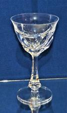 "New MOSER Czech Republic Crystal Clear Cut LADY HAMILTON 7 1/2""h Water Goblet"
