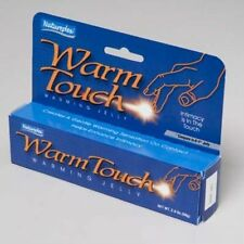 WARM TOUCH  Warming Jelly Lubricant Lube 4 X 2 oz tubes by Natureplex  FREE S/H