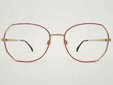17 Brille Hochwertiges Markengestell Damen Silhouette 6155 Gold Rot Grösse L 55 Antiquitäten & Kunst Brillen