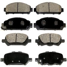 Brake Pads Complete Set TOYOTA Venza 2009-2014 - Semi-Metallic FRONT and REAR