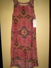 New, Anthropologie Kachel Amina Silk Dress With Tags Size 10