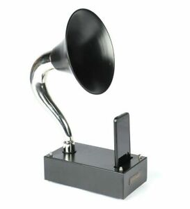 Antique Gramophone for I Phone Mobile Wireless Outdoor Musical Player Speaker