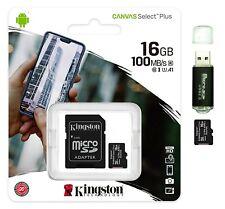 16GB micro SD SDHC Card 100MB/s Ultra 16G Class 10 UHS-1 A1 TF Memory Card 16 GB