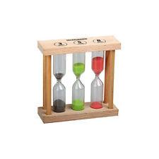 FACKELMANN | Hourglass Tea Timer the Herbal Teas 3-5-8 minutes Colored Sand