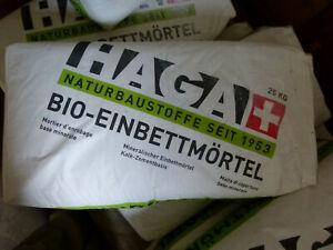 Haga Bio-Einbettmörtel Sack 25kg