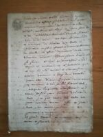 06/02 1808 ancien acte notarié BE Extrait registre déclaration vente 27 pages