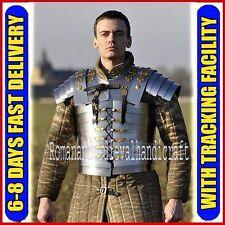 Roman Soldier Lorica Segmentata Legionary Segmenta Iron Chest Plate Body Armor