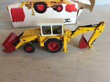 Vintage NZG 1:35 scale JCB 3C11 Backhoe Loader Tractor w/Original Box