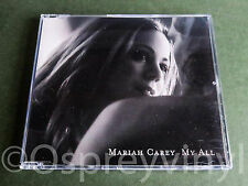 Mariah Carey My All Cd 2 Rare single with new case