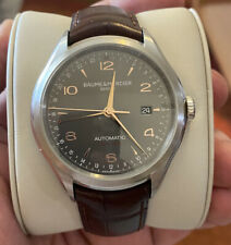 Baume et Mercier Clifton Swiss Automatic Men's Watch GMT DARK GRAY