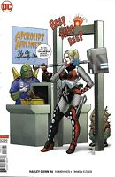 Harley Quinn Comic Issue 46 Limited Variant Modern Age First Print 2018 Timms DC