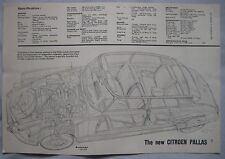 Citroen Pallas Cutaway Drawing