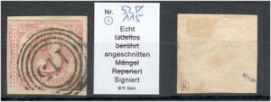 Thurn & Taxis 52 Briefstück gepr. Sem ME 25 (213495)