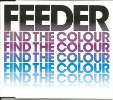 FEEDER Find the Colour w/ 2 UNRELEASED TRX & VIDEO CD single SEALED USA Seller