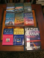 9-Heather Graham-6 Krewe of Hunters-3 Standalone Suspense-Paperbacks-Lot