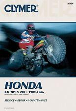 Clymer Manual For Honda ATC185 & 200 80-86