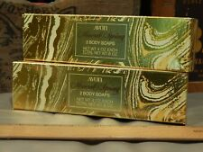 AVON ~ Mineral Spring (2 ~ 4oz) Body Soap Bars ~ Vtg Bath & Beauty Products ~