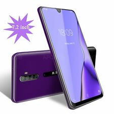 """7.2"""" Note 8 Large Screen 2 SIM Unlocked Android Smartphone 3G Phablet Cell Phone"""