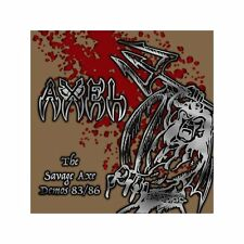 AXEL - The Savage Axe DCD (NEW*HEAVY METAL/NWOBHM*OSTROGOTH*PICTURE*CROSSFIRE)