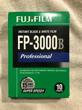 FujiFilm Fp-3000B Instant Black & White Fuji Film—Exp 11/2014—Free Shipping
