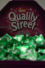 Quality Street - Container of 100 Green Triangles only