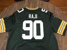 BJ Raji 80 Green Bay Packers Large Football Jersey NFL Nike On Field
