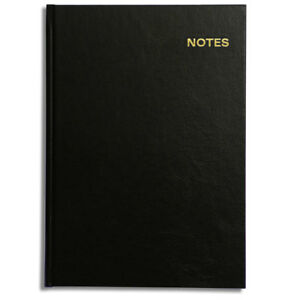 Pirongs Hardback A4 Notebook 160 Lined Pages 10 Colours