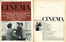 Cahiers du Cinéma N°222 - juillet 1970