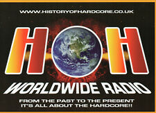 HISTORY OF HARDCORE RADIO FLYER  Classic Rave Flyer