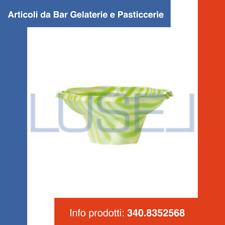 300 COPPETTE PLASTICA VERDI CC 150 PER YOGURT GELATI E MACEDONIE  PLASTIC CUPS