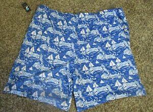 Nautica men big and tall sleep ware shorts 4 XL NWTS