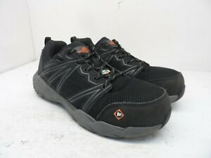 Merrell Men's Fullbench Superlite Alloy Toe CSA Work Shoes Black/Grey Size 8.5M