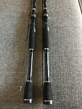 "(Set Of 2) Abu Garcia Silver Max 6'6"" 2-pc Medium Action Spinning Rods"