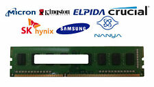 4GB DDR3-1600 PC3-12800U 1Rx8 DDR3L SDRAM Desktop Memory