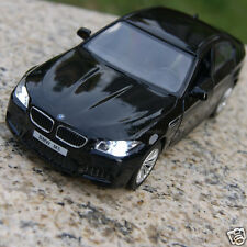 5 Inch BMW M5 Model Cars Toys Collection&gifts Alloy Diecast Sound&Light Black
