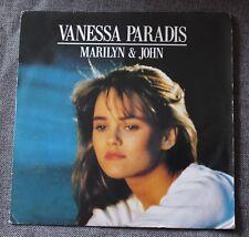 Vanessa Paradis, Marilyn & John / soldat, SP - 45 tours
