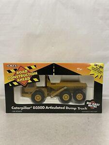 ERTL Caterpillar D350D Articulated Dump Truck 1/50 Die-Cast Replica Model #2431