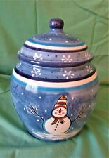 New listing Hand Painted Pacific Rim Cookie Jar. New