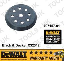 Black & Decker X32312 797157-01 125MM Orbit Sander Backing Pad BD190 KA190 New