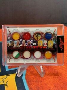 2021 Leaf Ultimate Sports - Ring Team - 1/4 CRAZY DUNCAN PATCH - BIRD MAGIC