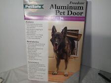 New Petsafe Freedom Large Aluminum Pet door 1-100 pound
