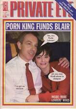 PRIVATE EYE 1054 - 17 - 30 May 2002 - Tony / Cherie Blair- PORN KING FUNDS BLAIR