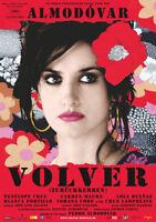 VOLVER - Orig.Kino-Plakat A1 - Pedro Almodovar, Penelope Cruz - Gerollt
