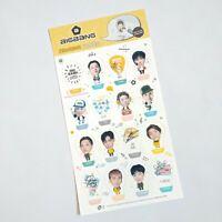 Big Bang Mini Photo 3D Standing Sticker KPOP Character Stickers GD BigBang BB