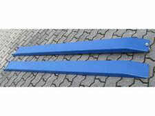 1 Satz (2 Stück) leichte Gabelverlängerung Gabelstapler 6x12cm 2m lang Kranöse