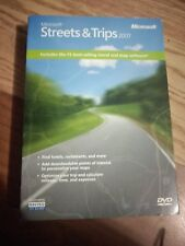 NEW- Microsoft Streets and Trips 2007